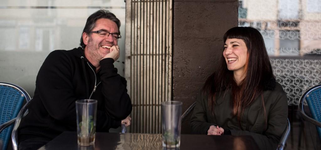 Sara Blazquez i Josep Comajoan. Dies d'Agost. Manlleu. /Carles Palacio