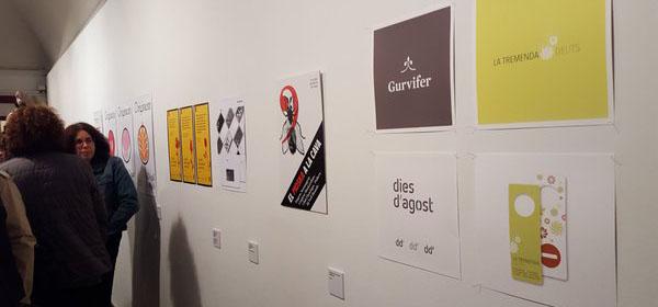 <h2>El logo de Dies d'agost, a l'exposició <br>de la història del disseny gràfic a Osona</h2>