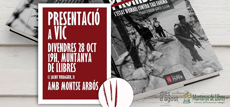 <h2>Montserrat Arbós presenta 'Una amistat <br>prohibida' a la Muntanya de llibres de Vic</h2>