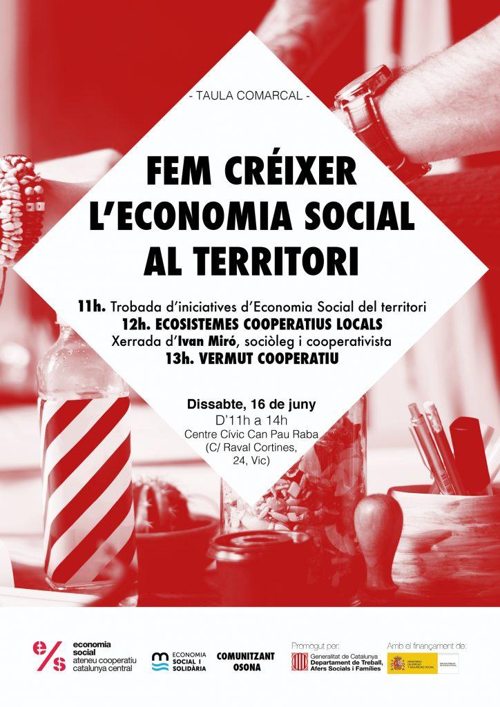 Trobada de cooperatives i entitats de l'economia social i solidària a Vic